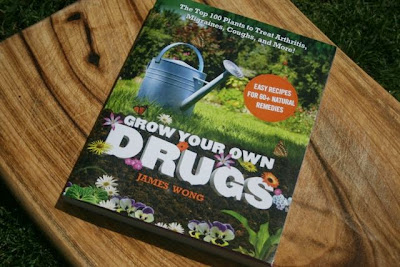 Chamomile & Peppermint Blog - Book Review - Grow Your Own Drugs by James Wong