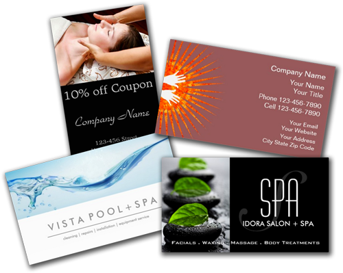 Shop Business Cards: Massage And Spa Business Cards 2