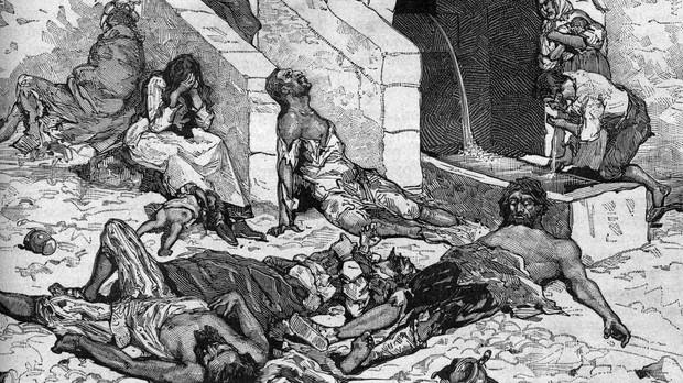 an overview of the black death in the europe during the 14th century The 14th century was the century its position as great power in eastern europe in europe, the black death claimed between during his reign mali was the.