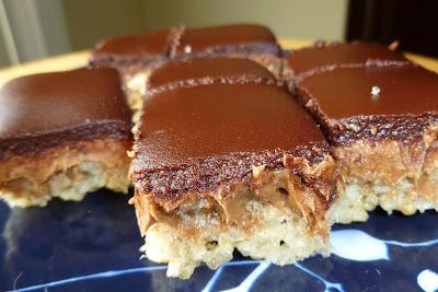 Peanut Butter Crispy Bars - made September 6, 2012 from Baked: New ...