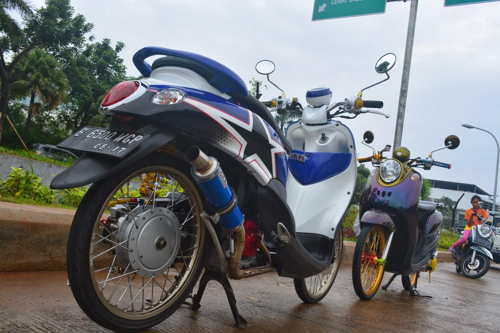 Modifikasi Yamaha Fino Fi Thailand