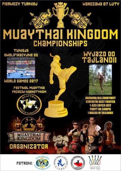 Rywalizacja sportowa Muay Thai - chok