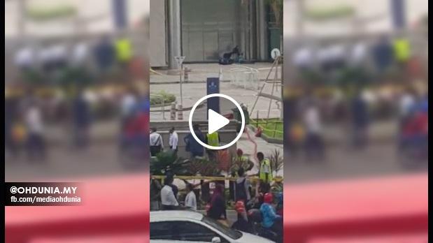 VIDEO: Gempar seketika apabila Beg Pakaian disangka Bom di KLCC