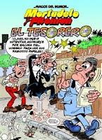Ranking Mensual. Los 12 libros más vendidos. El Tesorero, de Francisco Ibañez.