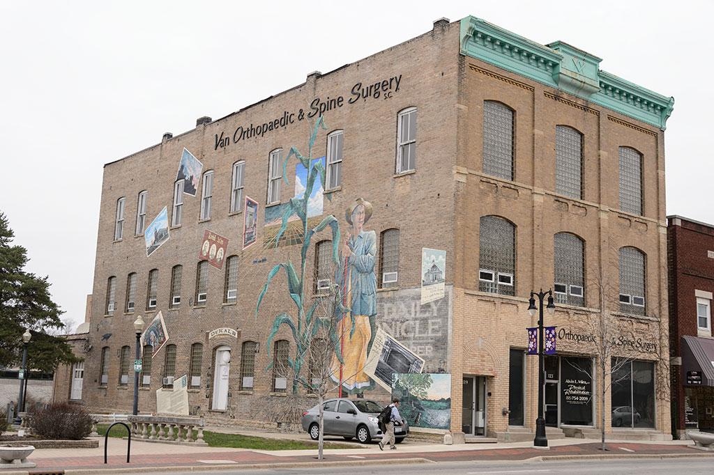 DeKalb, Illinois mural