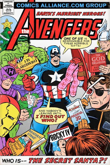 fake Avengers cover