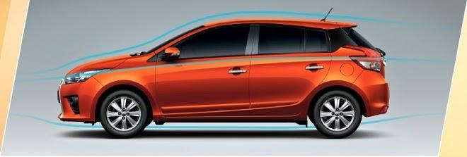 Yaris phiên bản mới 2014 vận hành mạnh mẽ với thiết kế theo chiều gió