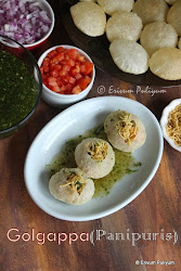 Homemade Puris & Pani - Golgappa | Panipuris