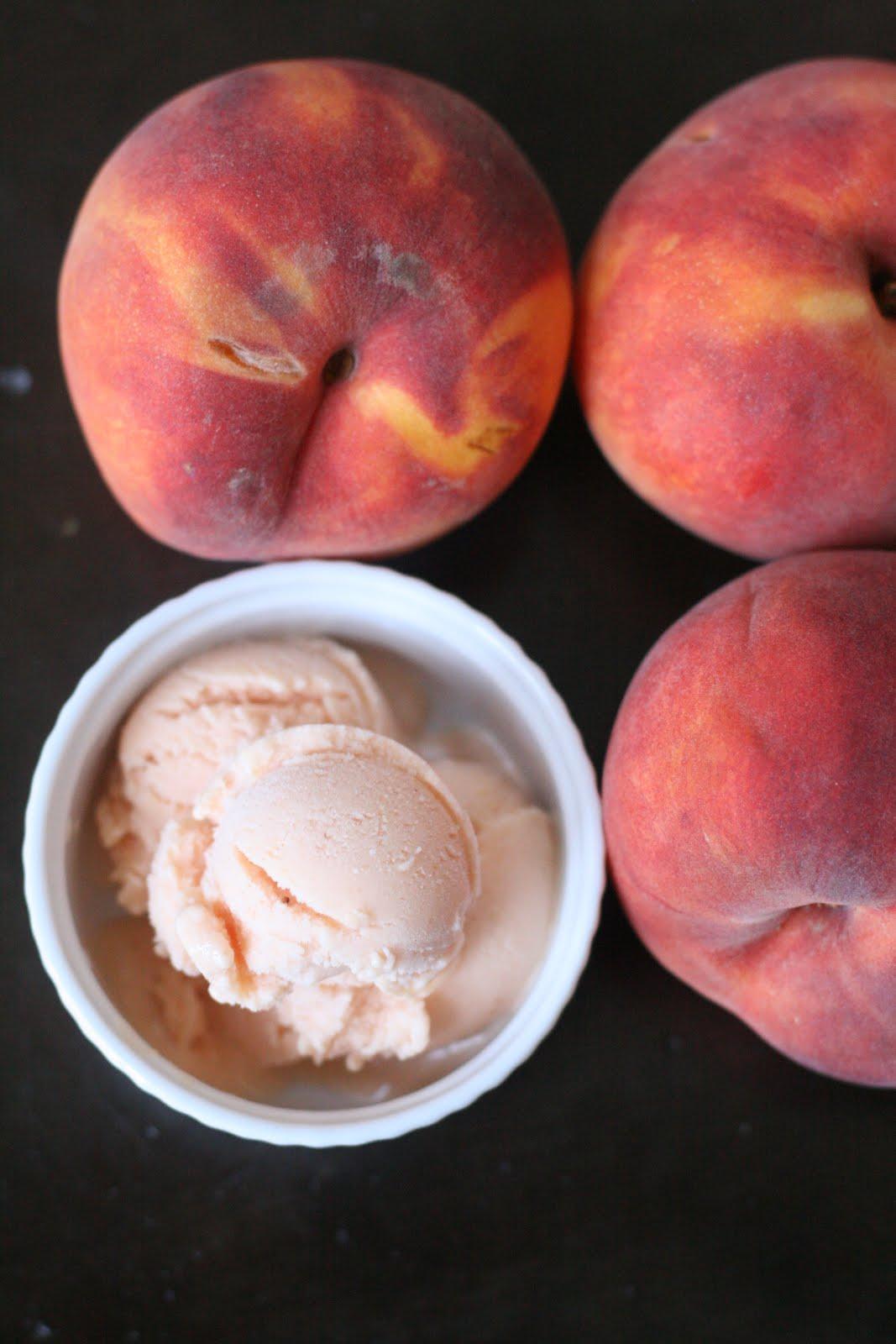 Honey Peach Frozen Yogurt: On getting involved | Week of Menus