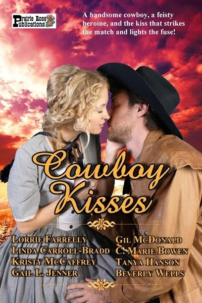 Available in digital and print! Cowboy Kisses Anthology ~ Historical Western Romances