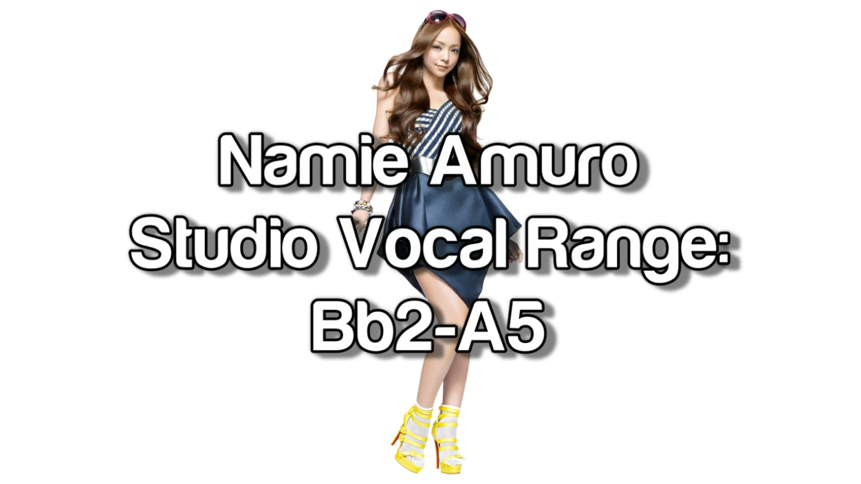 media namie amuro studio vocal range bb2 a5 1992 2012