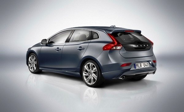 Picture 2013 New Volvo V40 hatchback rear view
