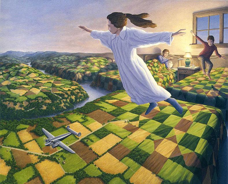 Alucinantes pinturas del artista canadiense Rob Gonsalves
