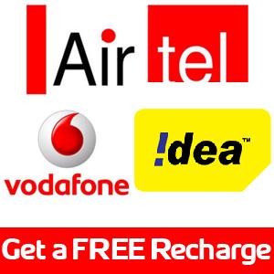 Get Free Recharge Online