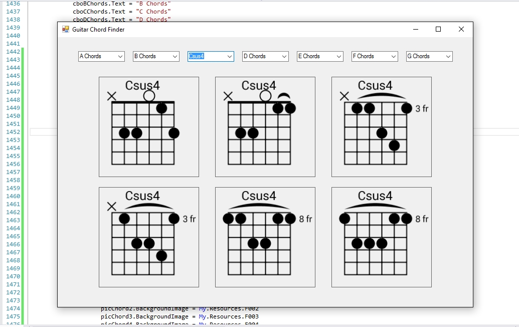 Guitar Chord Finder Gallery Basic Guitar Chords Finger Placement