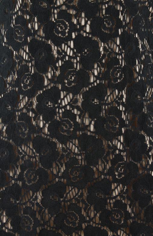 Vintage-inspired Dark Romance Lace & Mesh Dress