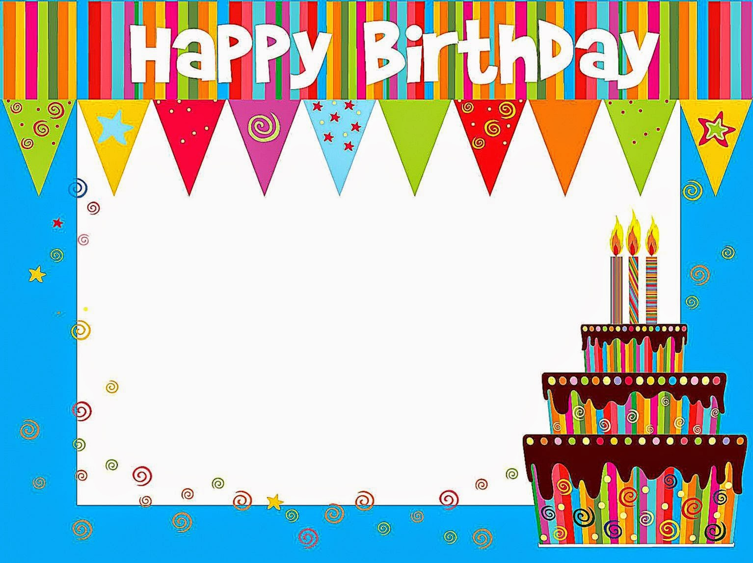 happy birthday card templates