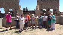 Con La Trapería de Tetuán en Colonia Clunia Sulpicia
