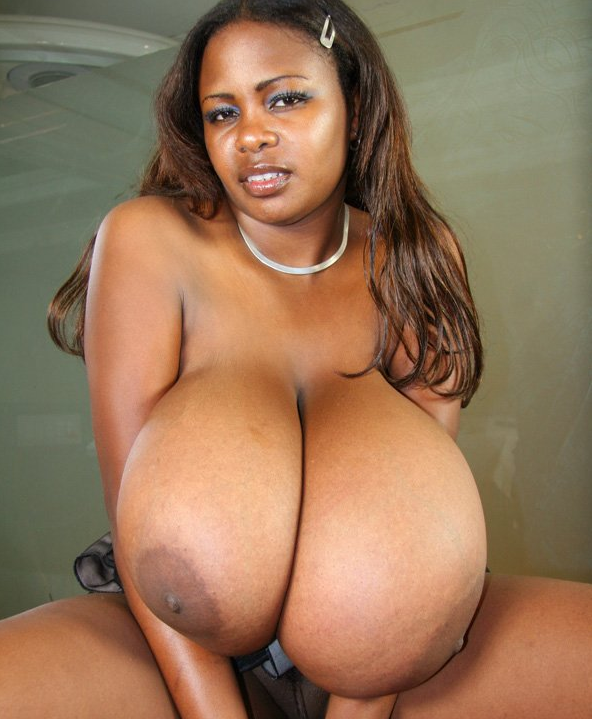 This Nude Model Has the Worlds Largest Breasts NSFW