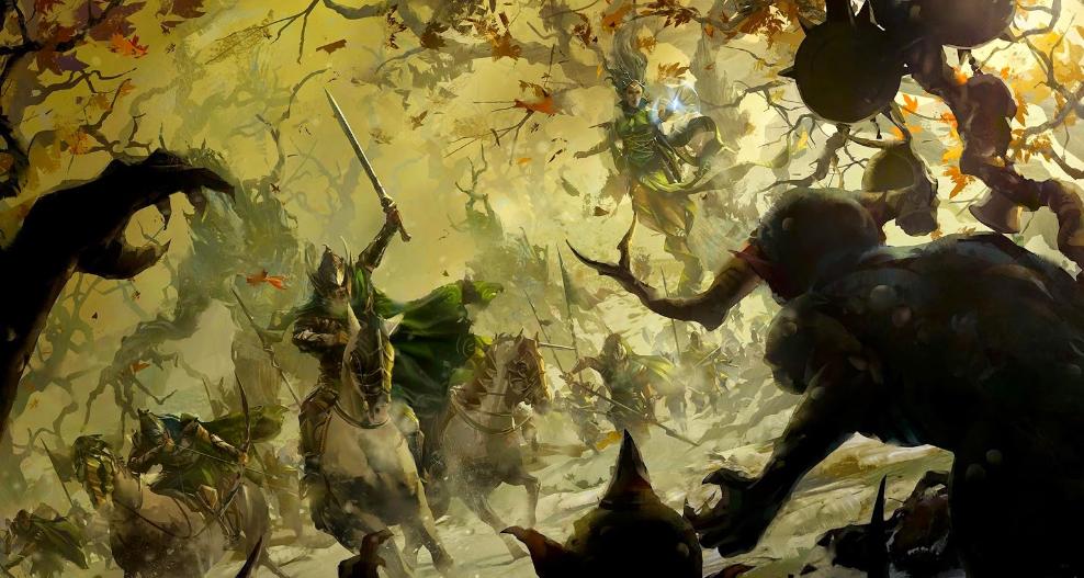 dark elves army book 7th