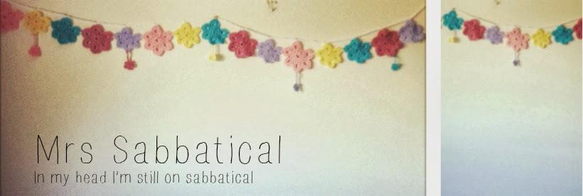 Mrs Sabbatical
