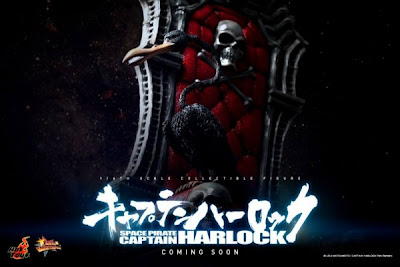 Hot Toys 1/6 Scale Space Pirate Captain Harlock Figures - Coming Soon