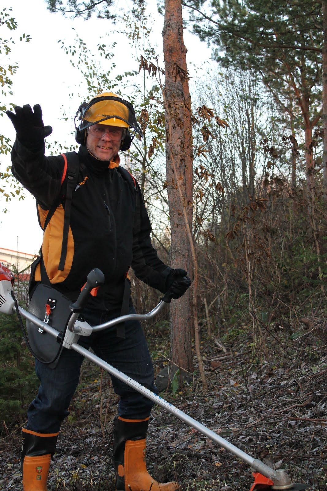 Pihatöitä raivauspalveluita pensaikkojen alasleikkauksia tilauksen mukaan käteisellä Tampere