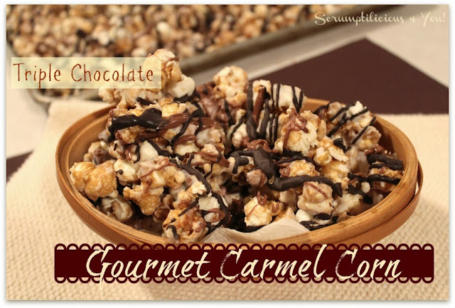 Chocolate Carmel Corn