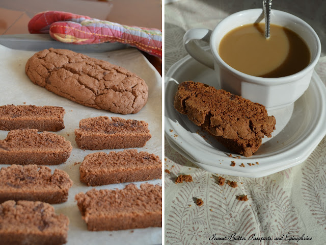 ... gluten-free cookie of 2013 . . . Gluten Free Double Chocolate Biscotti