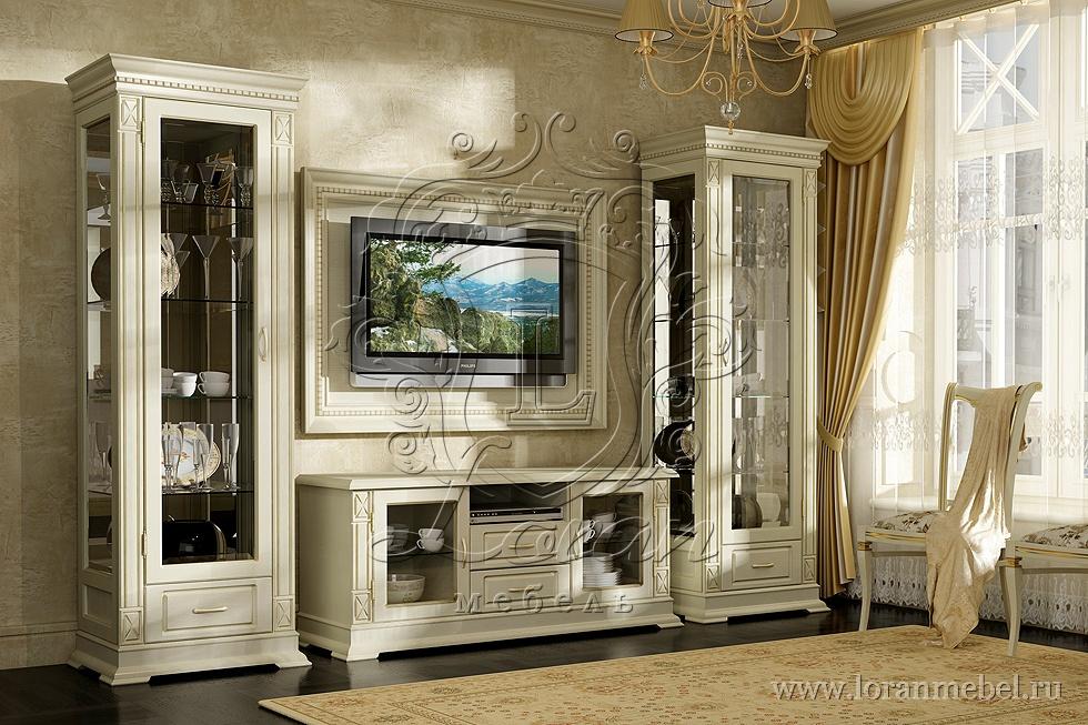мебель классика для гостиной фото
