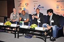 At Radio Asia 2011, New Delhi with speakers