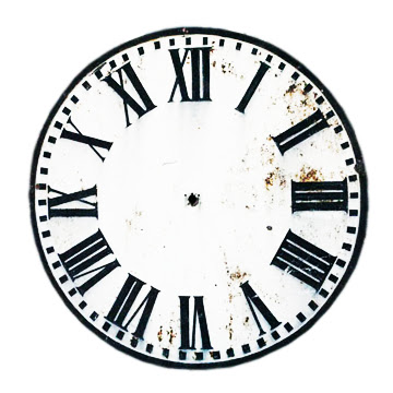 Print that or your clock face style of choice, and stick it under your ...
