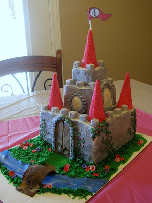 Custom Cakes By Stef Castle Cake