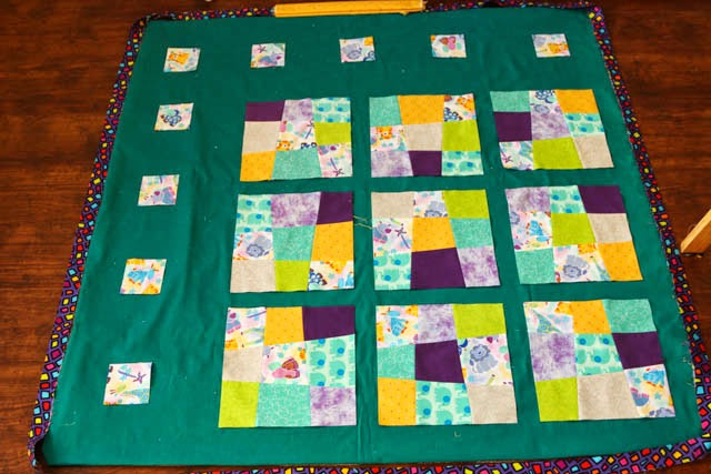 One Little Imp: Crazy Nine Patch Quilt : crazy nine patch quilt - Adamdwight.com