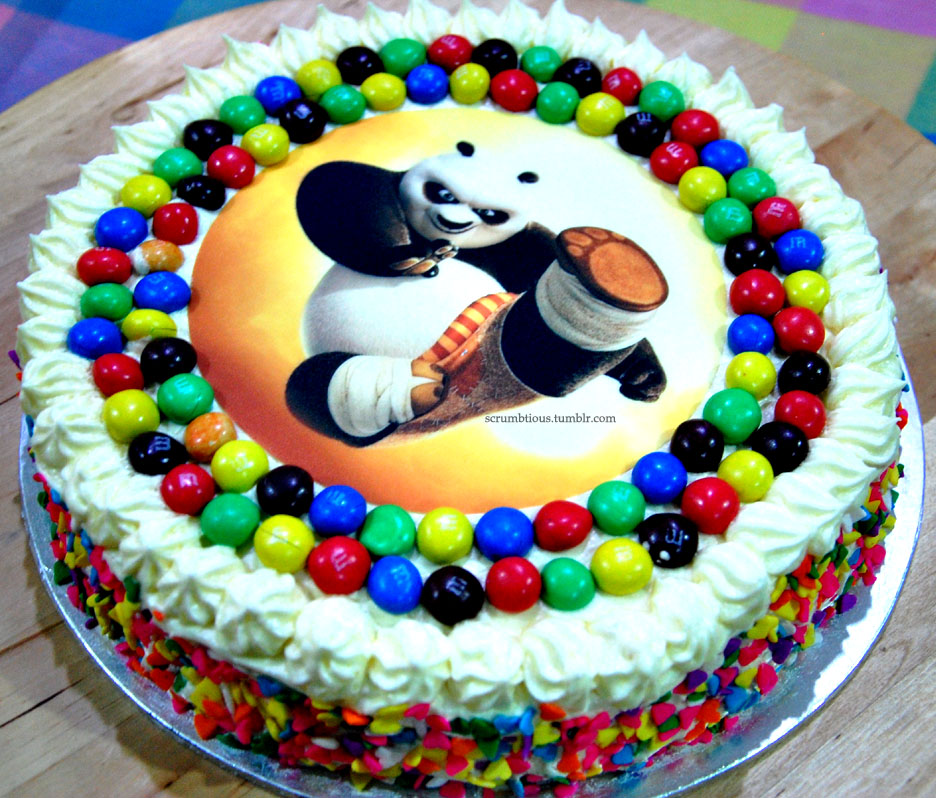 Kung Fu Panda Birthday Cake Scrumbtious