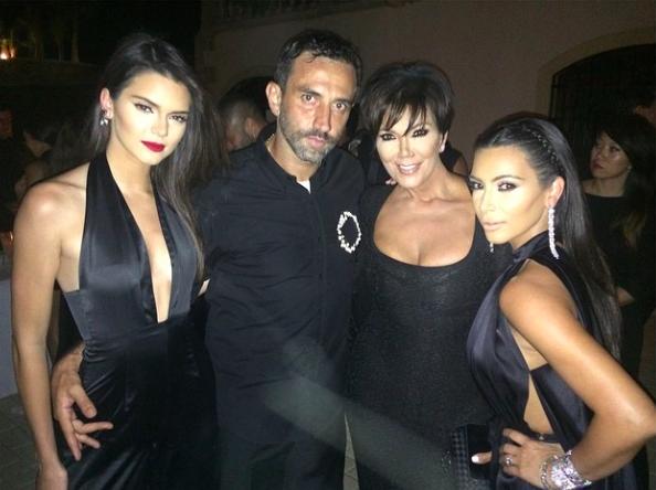 Kim Kardashian Kanye West Justin Bieber