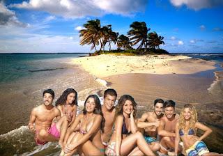 Posters e wallpapers dos Morangos com Açucar Jovens Atores em fundo de tela Praia da Linda Ilha Deserta