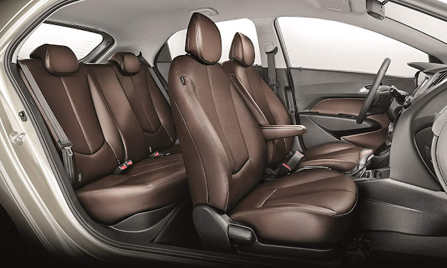 Hyundai HB20 2016 - espaço interno