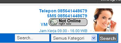 tutorial memasukan yahoo messenger ke dalam website