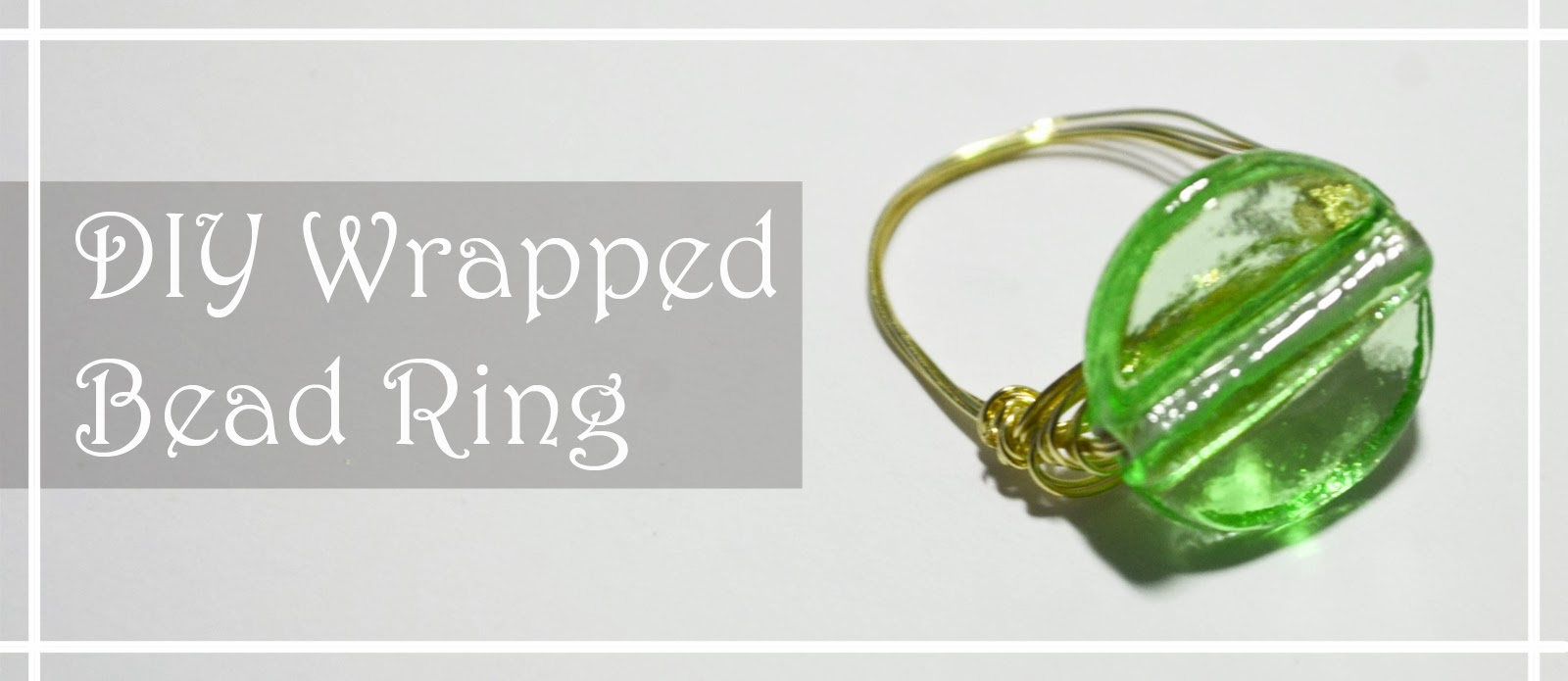 green wire gold jewellery easy simple quick