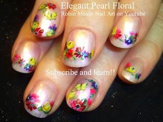 """robin moses nail art """"fall nail art"""" """"elegant fall nails"""