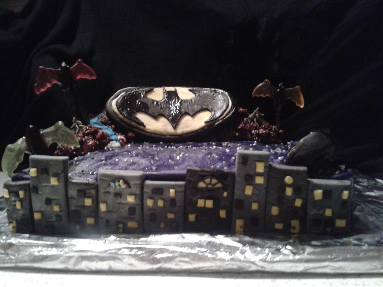 Tortenlabor: Kuchen der Nacht ^-^ Batman ^-^