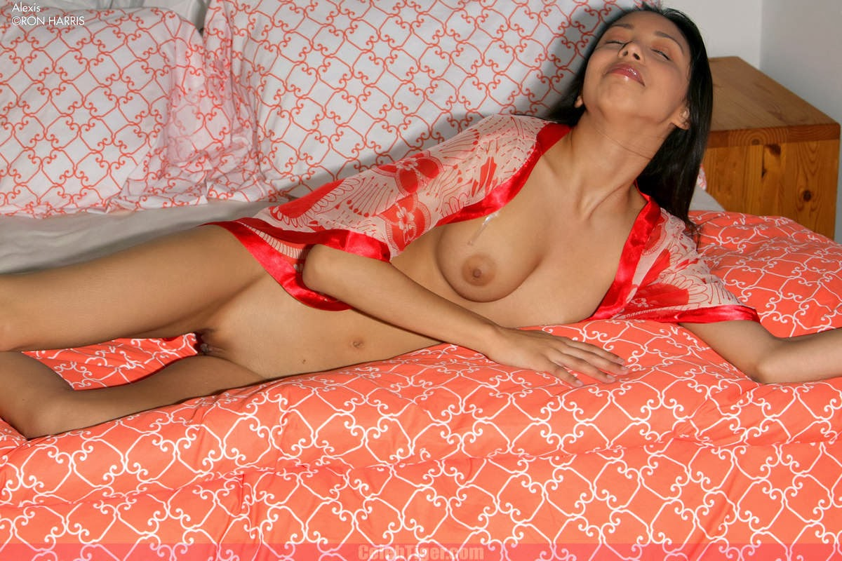Horny Teen Alixis In StripTeasing In Red Nighty www.CelebTiger.com 6 Naughty Teen Girl Alixis StripTeasing Nude In Her Red Nighty HQ Photos