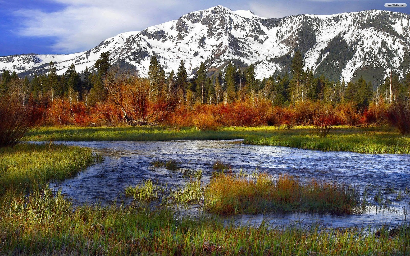 2013 best picz: Wallpaper Mountain Lake