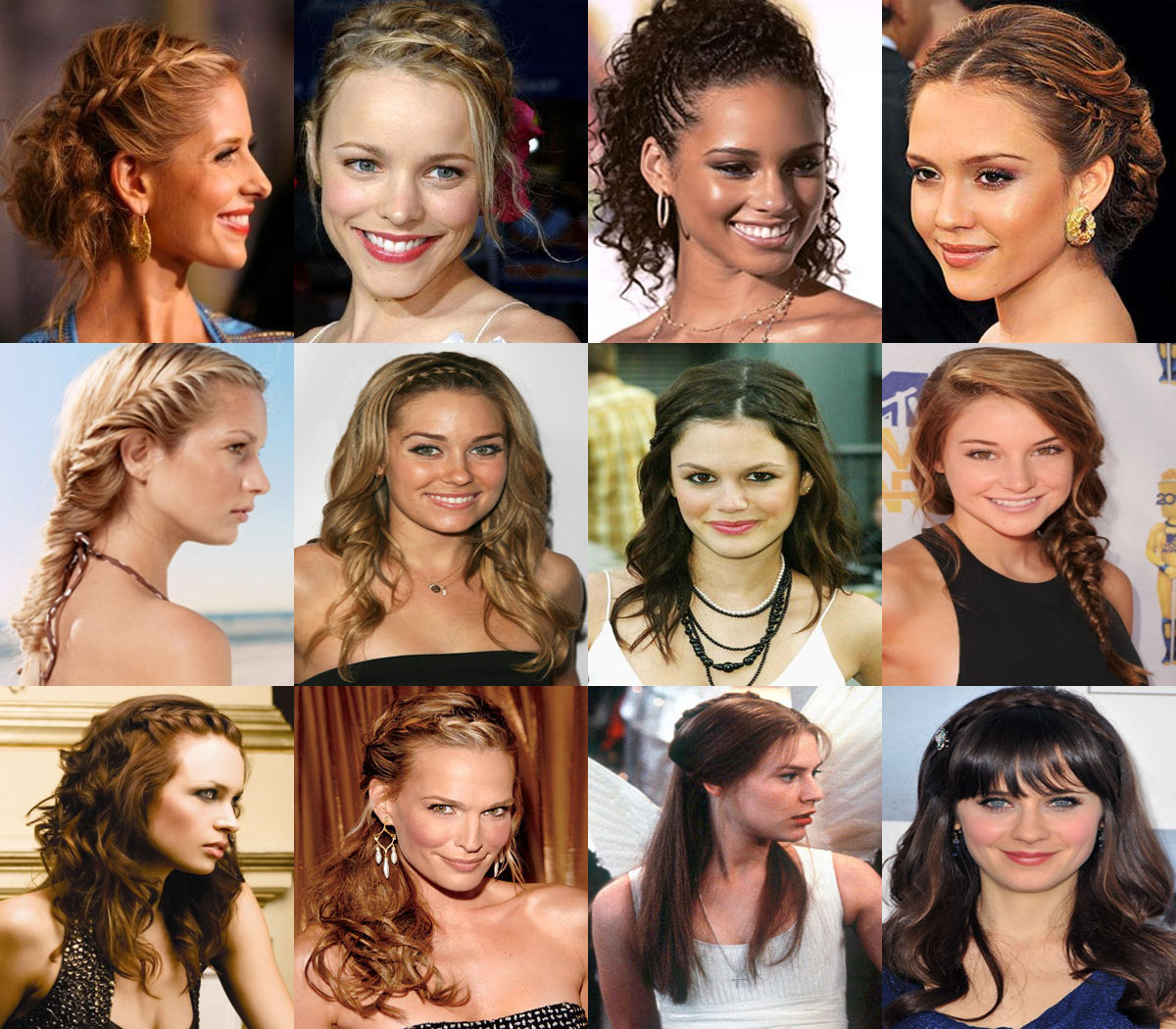 Chic Braided Hairstyles