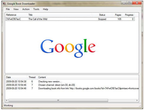 google book downloader for windows 7