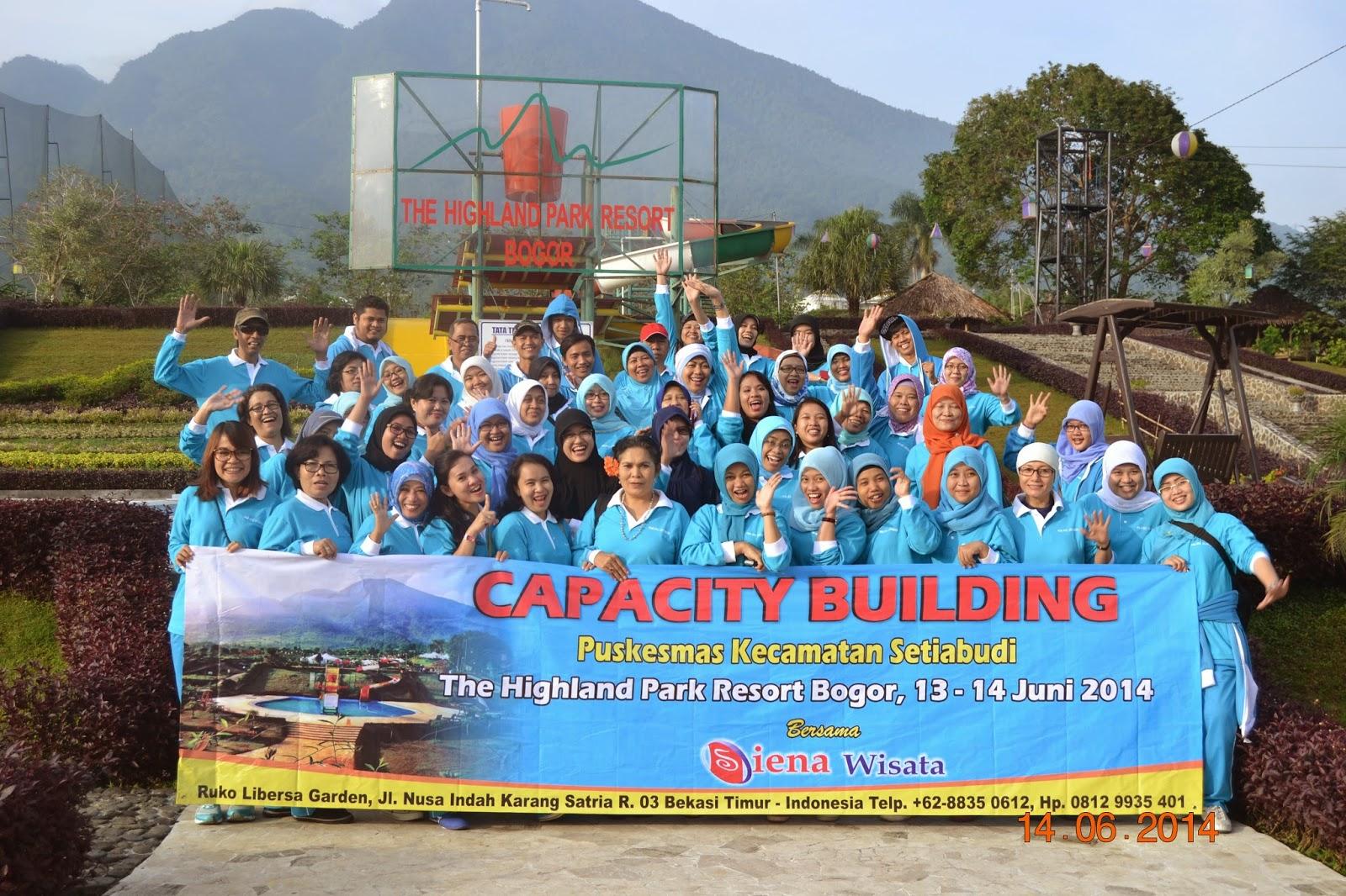 The Highland Park Resort Bogor With Siena Wisata Capacity