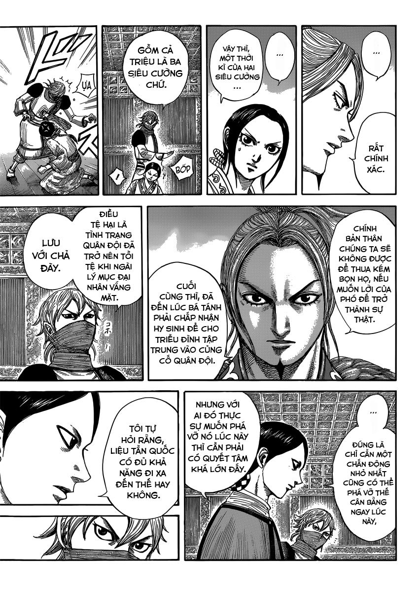 Kingdom - Vương Giả Thiên Hạ Chapter 402 page 9 - IZTruyenTranh.com
