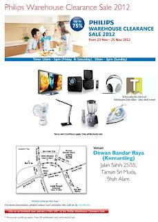 Philips Warehouse Clearance Sale 2012
