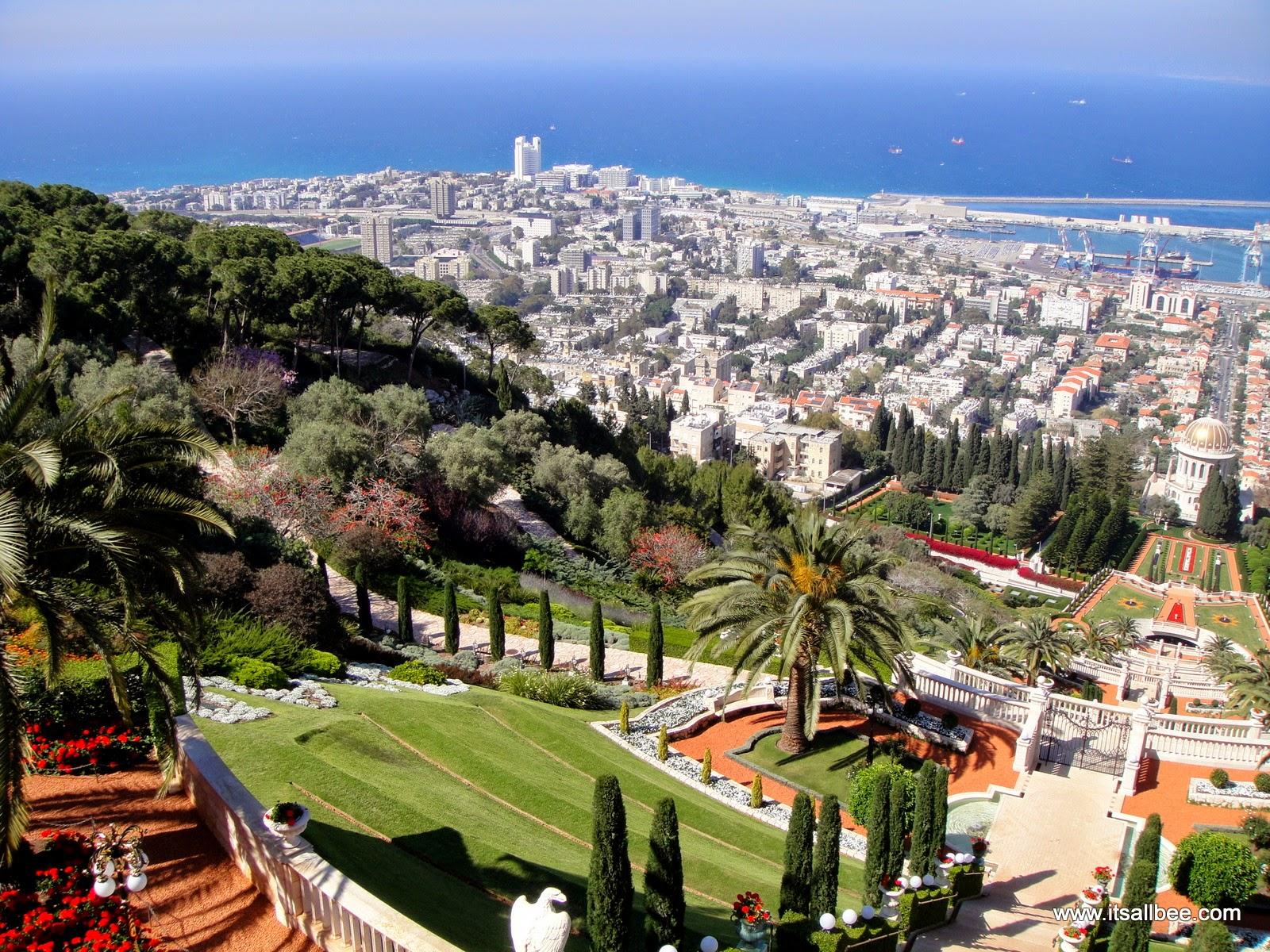 Bahai Gardens Haifa | Peace and Harmony in the Ba'hai Gardens